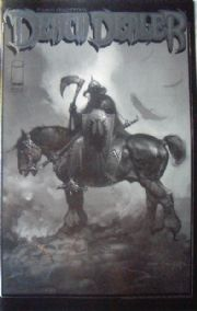 Death Dealer #1 Black & White Special Edition Frank Frazetta